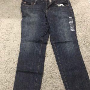 Hi rose skinny jeans